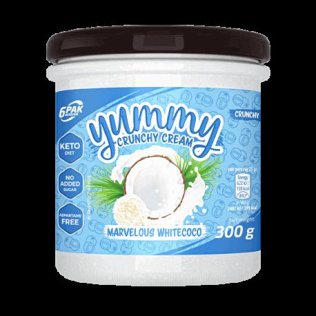 6PAK Nutrition Yummy Cream 300g - Marvelous Whitecoco
