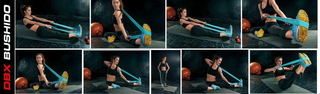 Výsledok vyhľadávania obrázkov pre dopyt BUSHIDO Tréningová Guma Modrá 16-39 kg