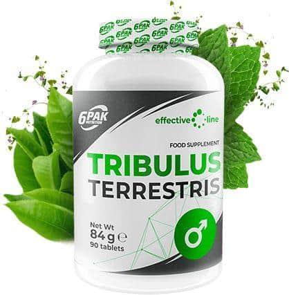 6PAK Effective Line Tribulus Terrestris - 90 tabl.