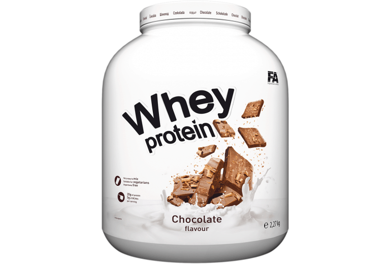 FA Whey protein - 2270 g Čokoláda