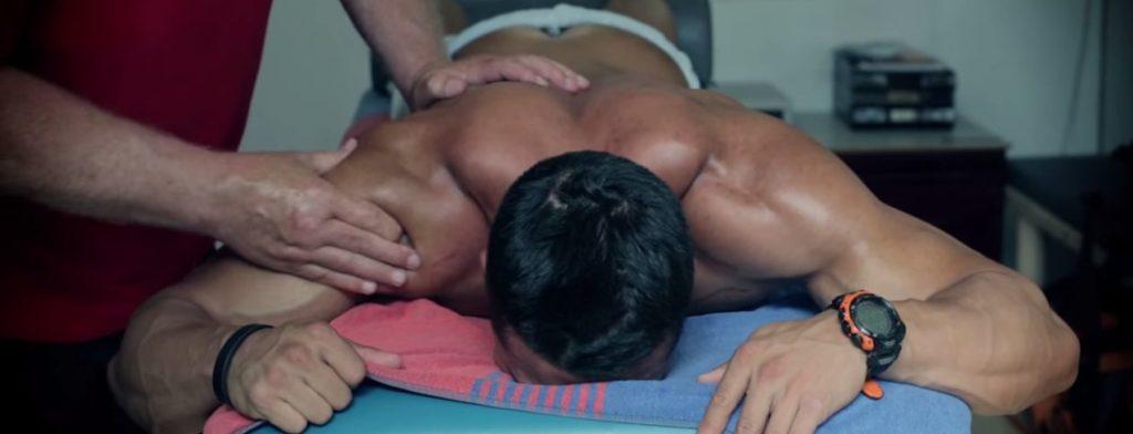 regenerácia, masáž